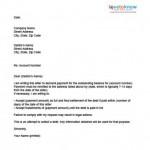 Debt Settlement Agreement Letter