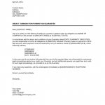 Demand Payment Letter Template
