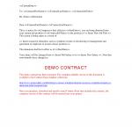 Demotion Letter Template