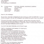 Denial Of Claim Letter