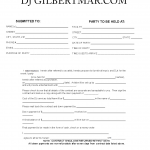 Dj Contract Agreement