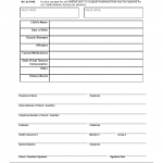 Emergency Medical Form