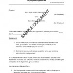 Employment Contract Agreement Sample