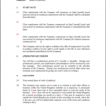 Employment Contract Form