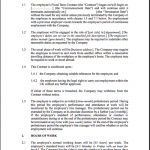 Employment Contract Templates
