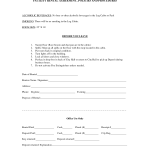 Facility Rental Agreement Form