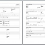 Free Application Template