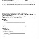 Free Contracts Forms