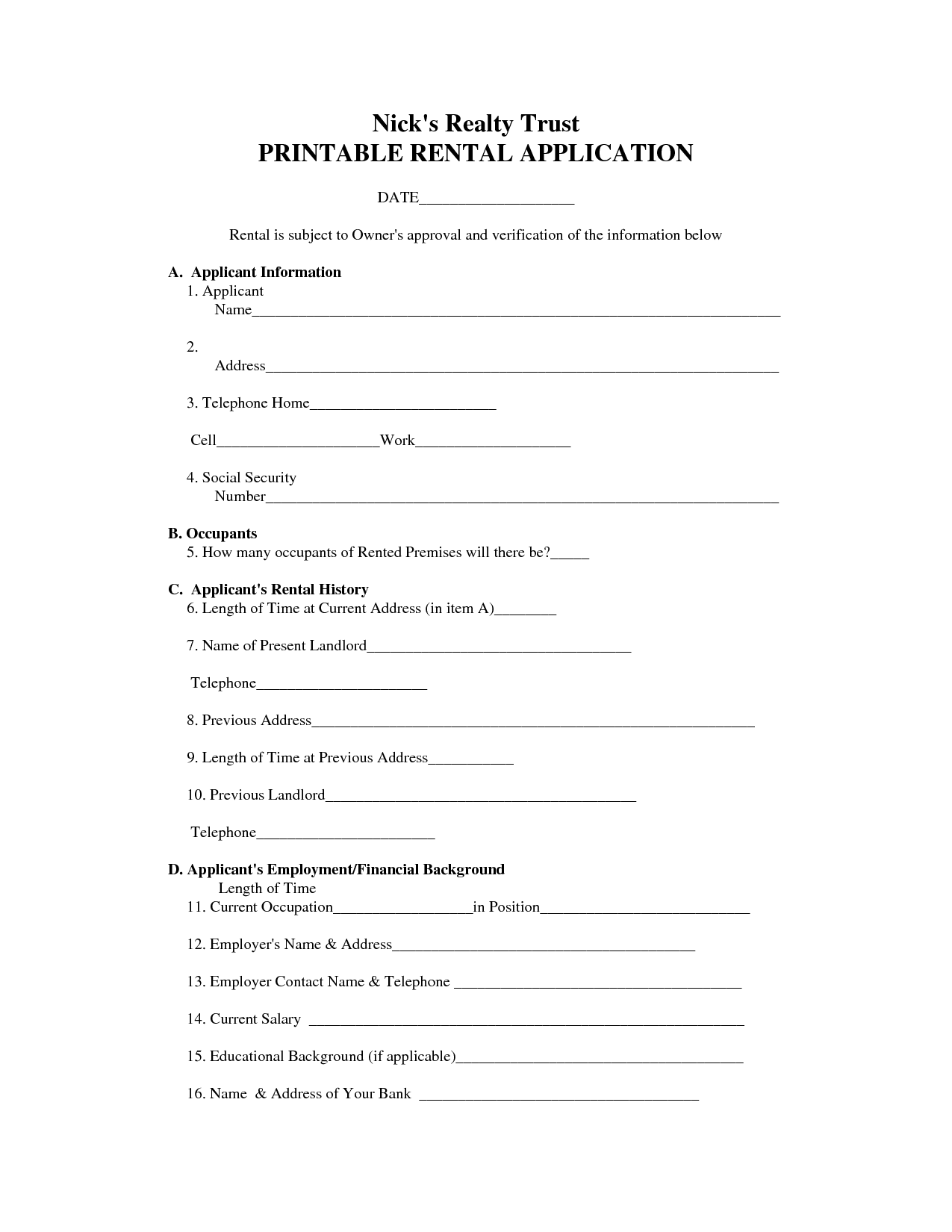 image about Free Printable Landlord Forms titled Absolutely free Printable Condo Arrangement Types - Absolutely free Printable Files
