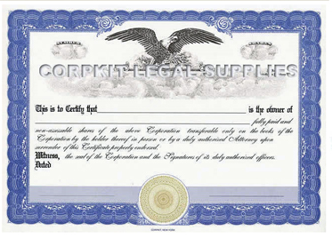 Free Stock Certificate Template - Free Printable Documents