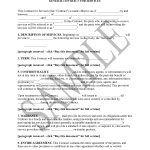 General Contract For Services Template