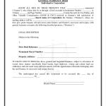 General Warranty Deed Template