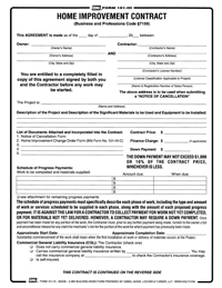 photo relating to Free Printable Home Improvement Contracts titled Dwelling Enhancement Agreement - Absolutely free Printable Data files