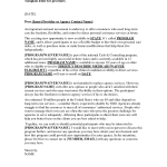 Home Purchase Offer Letter