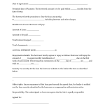 How To Write A Loan Contract