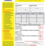 Hvac Maintenance Contract Forms