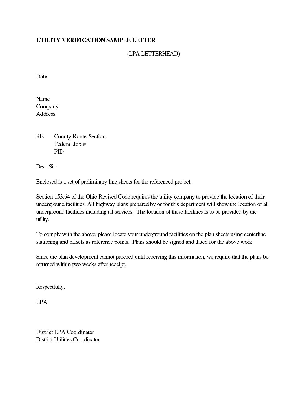 Va Employment Verification Letter