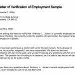 Income Verification Letter