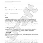 Intent To Purchase Form