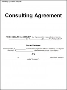 it consultant contract template free printable documents. Black Bedroom Furniture Sets. Home Design Ideas