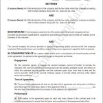 It Services Contract Template