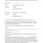 Landscape Contract