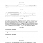 Last Will And Testament Sample Form