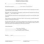 Late Rent Notice Form