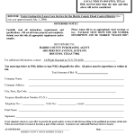 Lawn Care Contract Templates