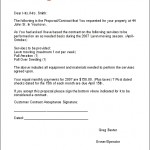 Lawn Maintenance Contract Agreement