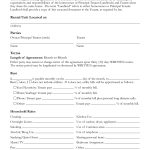 Lease Agreement Sample