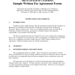 Legal Agreement Forms