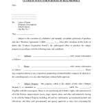 Letter Of Intent Real Estate