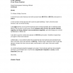 Letter Of Rent Increase