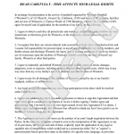 Liability Disclaimer Template