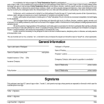 Liability Disclaimer Template