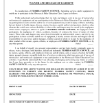 Liability Waiver Example