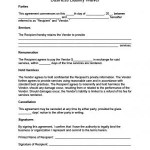 Liability Waiver Template Free