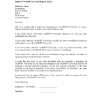 Loan Application Letter Sample