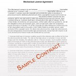 Music Licensing Contract