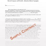 Musician Contract