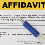 Notarized Affidavit Of Identity