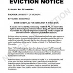 Notice To Evict