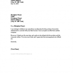 Letter Of Offer Template