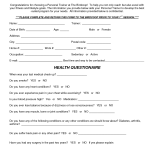 Personal Trainer Forms