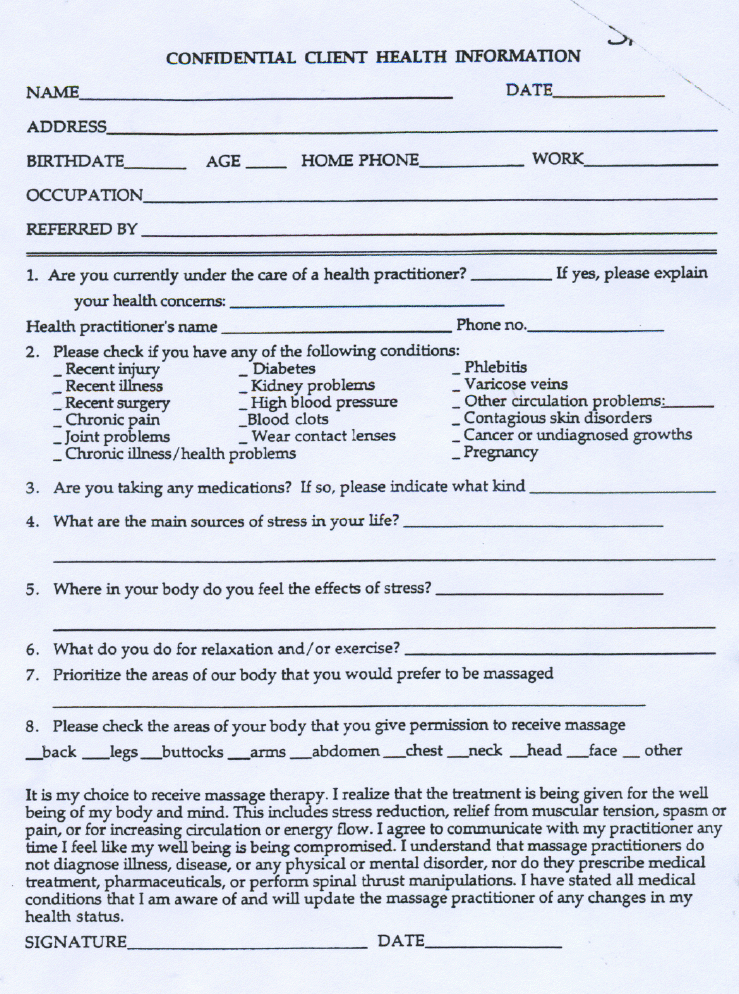 Personal Training Consultation Forms By Pqo69567 Personal Trainer Form...