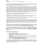 Personal Training Contract