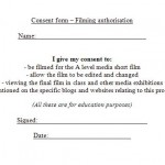 Photo Consent Form