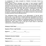 Property Release Of Liability Form