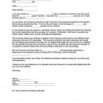 Raise Rent Letter